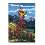 Canadian Landscape Art  Postcards Butterfly Art Postcards Gifts Butterfly art Canadian Landscape Painting postcards original painting by Canadian artist Kim Hunter / Indigo