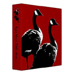 Canada Goose Binders & Canadian Geese Photo Albums