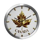 Gold Medal Canada Clocks Canada Team Clock Collection