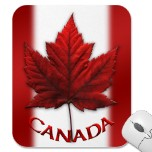 New Canada Flag Souvenir Mousepads Added