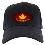 Varsity Canada Souvenir Caps Canadian Flag & Yellow Maple Leaf Souvenir Trucker Hats & Baseball Caps