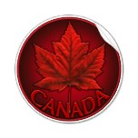 Canada Stickers Available Online. Cool NEW Canada Souvenir Stickers New Designs Added Online