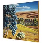 Alberta Foothills Canadian Landscape Painting Prints on Canvas