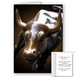 Personalized New York Souvenir Cards Custom New York Bull Cards