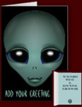 Alien Invitations Personalized Extraterrestrial Cards