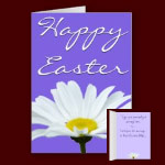 Happy Easter Greeting Cards Personalized Easter Cards Classic Spring Flowers Cards