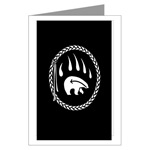 First Nations Tribal Art Greeting Card