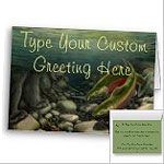 Fishing Cards BC Wildlife Art Cards Canadian Wildlife Conservation Art Cards