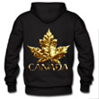 Canada T-shirt jerseys hoodies & cool Canada souvenir apparel gold chrome maple leaf Canada gifts organic T-shirts souvenirs for men women kids home and office Canada gifts shop online