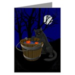 Halloween Art Cards Gift Card Traditional Pumpkin Jack-o_lantern Halloween Gifts & T-shirts. Halloween Shirts & Gifts for men, women, boys, girls & Baby, home & office Halloween Gifts & Pumpkin Shirts