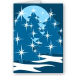 Blue Christmas Tree T-shirts & Christmas Cards & Gifts Shop Online