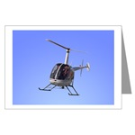 Helicopter Birthday Cards, Black Helicopter greeting cards, 1, 8 or 20 Pack of Helicopter art Cards for men, women, boys & girls. Cool Helicopter cards shop online
