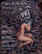 Horror Magazine Cover Art, Illustration & Graphics Dark Recesses issue #5 Original Magazine cover Art by canadian Fine Artist / Graphic Designer Kim Hunter