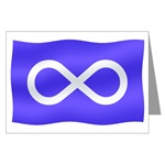 Metis Nation Greeting Card Metis Nation Cards Cool Metis Flag Cards & Metis Canada Gifts for Men, Women, Boys & Girls Original Canada Cards Metis Art Cards Flag Design by www.kimhunter.ca