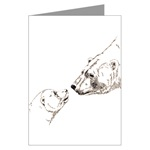 Polar Bear Art Greeting Cards 6 PackWildlife Art