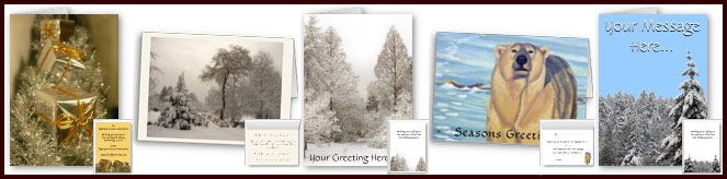 Personalized Seasons Greetings Cards Happy Holiday Cards Available.
