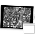 New York Cards Blank NY City Cards Classic Black and White New York Cards