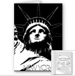 Statue of Liberty Cards Personalized New York Souvenir Cards