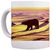 Polar bear Cup Mug  Pola rBear Art Sunrise Mugs Polar Bear Art Coffee Cups