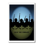 Lest We Forget Postcards Packof 8 War & Peace Card