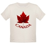 Canadian Souvenir Toddler Organic T-shirt Canada Souvenir Baby T-shirts for Baby boys & girls Toddler Canada T-shirts Organic Baby Souvenirs