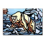 Polar Bear Art Postcards Metis Native art Cards