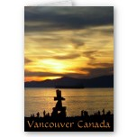 Vancouver Cards Blank Custom Vancouver Canada Souvenir Greeting Cards Postcards Vancouver Invitations