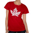 Cool Canada Souvenirs & Shirts Retro Canada Maple Leaf Gifts Design Distressed Vintage Red Canada Flag Souvenir